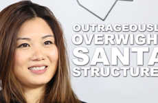 Outrageously Overweight Santa Structures - Tiffany Ng Confesses Her Love for a Meatier Santa Claus