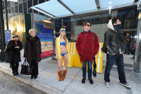 Heated Bus Shelters
