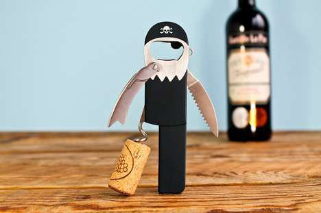 Personified Seafaring Corkscrews