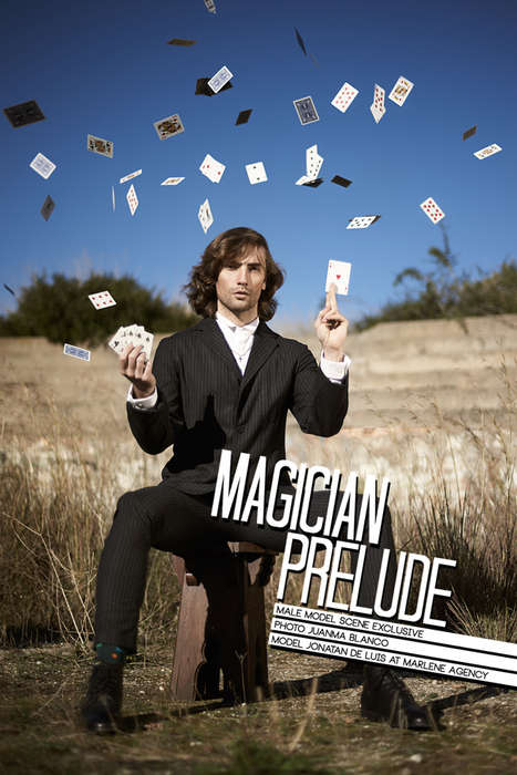 Stylish Magician Editorials