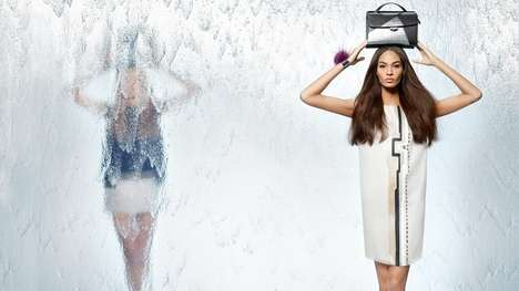 Eerily Mirrored Fashion Ads