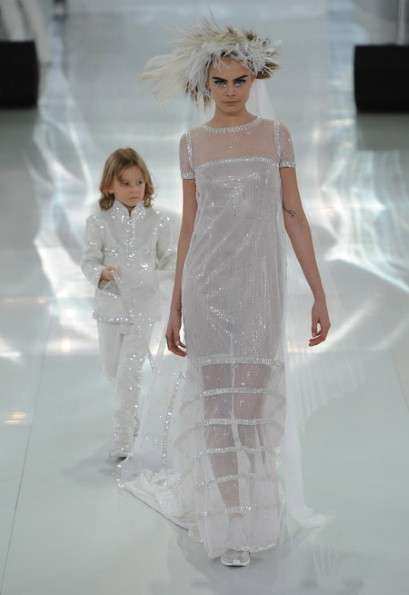 Sneaker-Infused Lace Couture