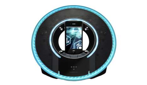 Haloed Smartphone Speakers