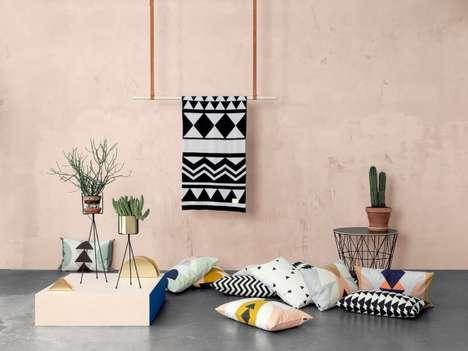Funky Geometric Home Decor