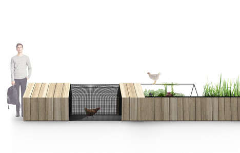 Compact Home Farm Kits - The Modular Chicken Coop Enables Backyard Urban Agricultural Setups