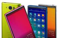 Globally Enhanced Smart Phones