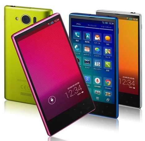 Globally Enhanced Smart Phones