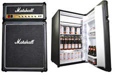Rocking Mini Fridges - Keep the Music Loud and Your Brews Cold in the Amped Up Marshall Fridge