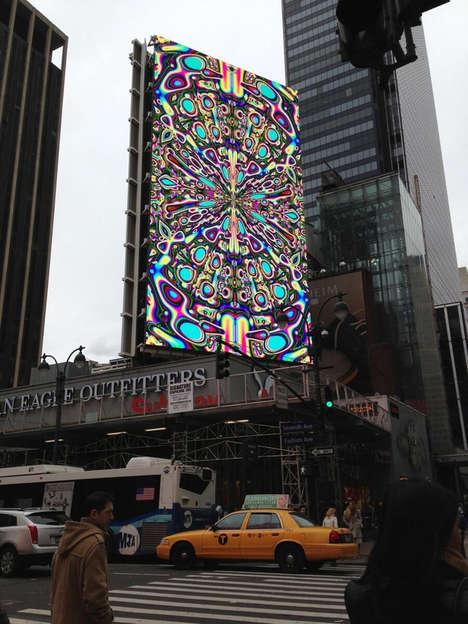 Hallucination-Inducing Billboards
