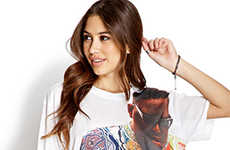 Hip-Hop Icon Streetwear - Forever 21's Rap Statement Tees Celebrate The Genre's Music Icons