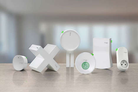 Energy-Monitoring Devices - Schneider Electric Wiser Measures Domestic Electricity Consumption