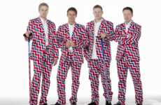 Loudly Patterned Olympic Gear - Team Norway is Loud and Proud with These Olympic Curling Pants