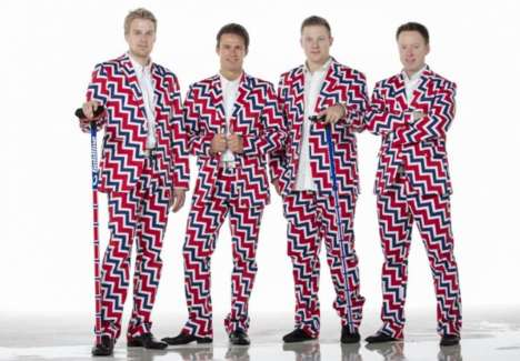 Team Norway is Loud and Proud with These Olympic Curling Pants