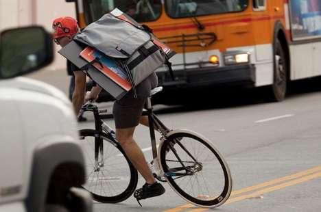 Seatbelt-Buckled Messenger Bags