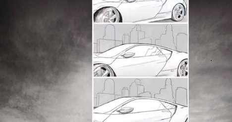 Social Automotive Flipbooks