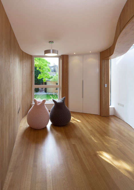 Curvaceous Timber Rooftop Residences