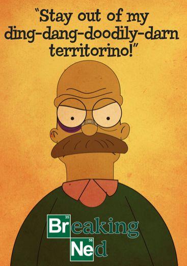 10 Simpsons Cartoon Mashups