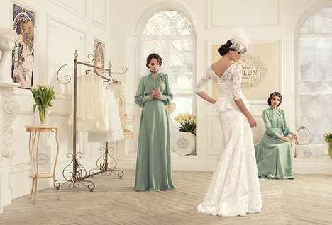 Bridal Boutique Fashion Ads