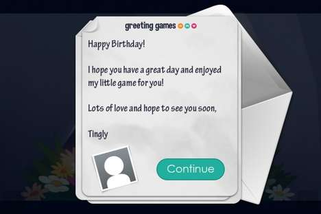 Gamified Greeting Cards