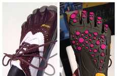 Foot-Shaped Golf Shoes - These Golf Shoes Help You Keep a Grip on the Green with Free Toe Design
