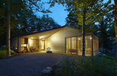 Eco-Friendly Cedar Cabins