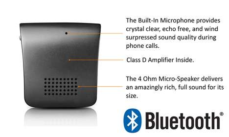 Wireless Tactile Traveling Speakers