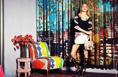 Clashing Urban Lookbooks - The Rebecca Minkoff Spring/Summer Campaign is Vibrant