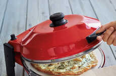 Gourmet Pizza Makers - The Petite Pizzeria Allows Foodies to Make Freshly Baked Pies at Home