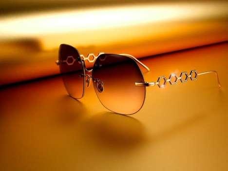 $28,000 Gold Sunglasses