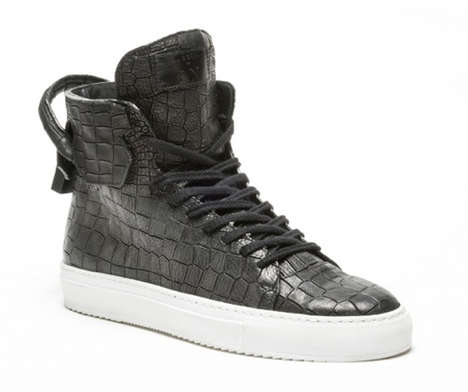 Handbag-Inspired Sneakers - The En Noir x Buscemi 125mm Sneakers Hit New Levels of Lavish