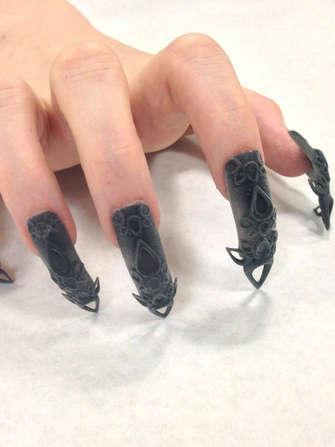 3D-Printed Nail Art