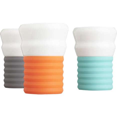 Stylish Silicon Espresso Cups