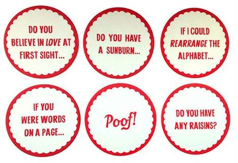 Suave Valentine's Day Coasters