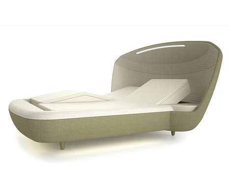Domed Headrest Beds - The Muon Haven Promotes Highest Possible Sleeping Comfort