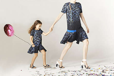 Coordinating Child Apparel - Preen Mini's Spring Clothing for Kids Emulates Adult Preen
