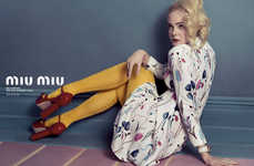Quirky Mismatched Fashion Ads  - Four Models Star in This Miu Miu Spring/Summer Campaign