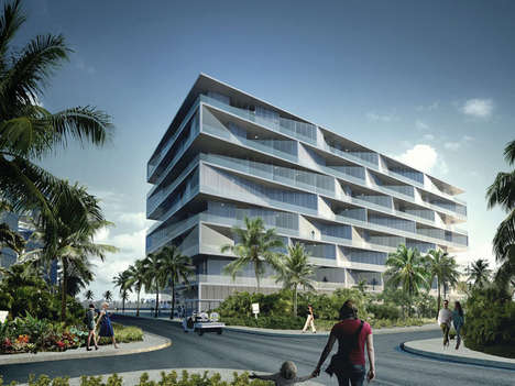 High Class Honeycomb Hotels - This Upcoming High Class Resort Features an Inventive New Look