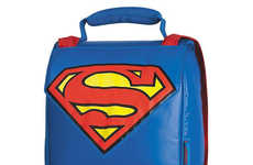 Heroic Meal Containers - The Superman Thermos Lunch Box Comes Complete with a Cape
