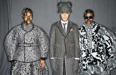 Jungle Explorer Apparel - This Thom Browne Fall Collection Boasts Eccentrically Elegant Menswear