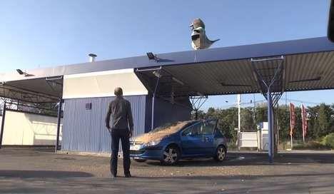 Pigeon Car Wash Pranks