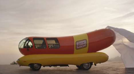 Tweet-Leased Weenie Mobiles - The Tweet2Lease Contest Offers the Oscar Mayer Wienermobile for a Day