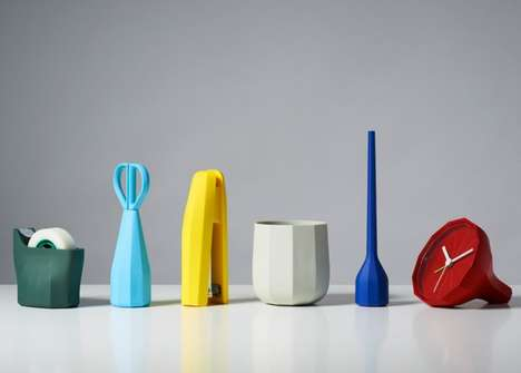 Plastic Multi-Faceted Stationery