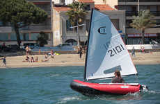 Versatile Inflatable Sailboats - Sail Your Way Towards a Fun Weekend Excursion with This Smart Boat