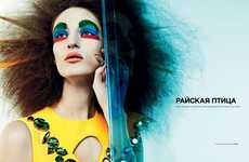 Chromatic Couture Clown Editorials