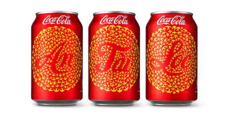 Celebratory Aerial Soda Branding