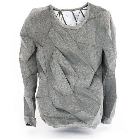 Dissolving Designer Sweatshirts - The T-Shirt Issue's Melt Sweatshirt is a Fashionable Work of Art