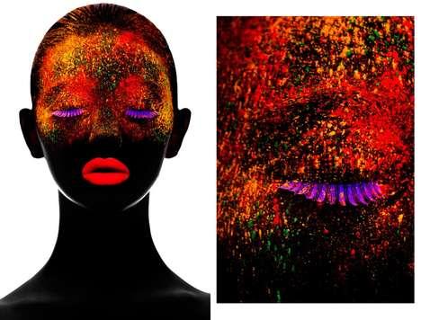 Illuminated Neon Beauty Portraits