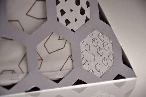 Geometric Serviette Containers
