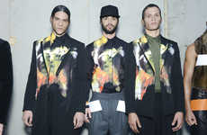 Basketball-Infused Fashions - The Latest Givenchy Fall Collection for Men Embraces Bold Prints