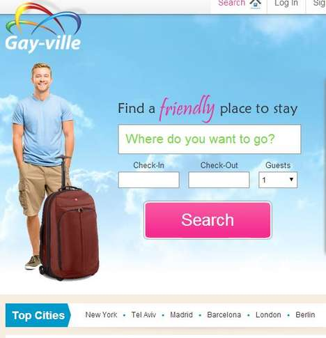 LGBT-Specific Travel Tools - Gayville is an LGBT-Friendly Travel Tool